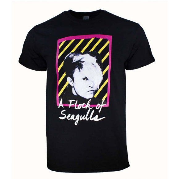 A Flock of Seagulls Neon T-Shirt