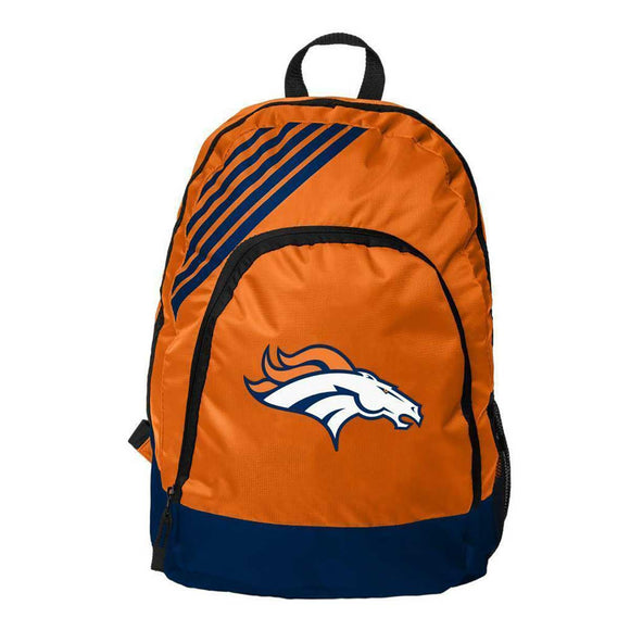 Denver Broncos Border Striped Backpack