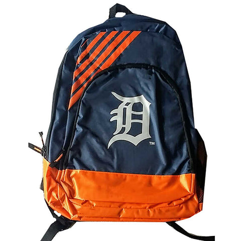 Detroit Tigers Border Striped Backpack