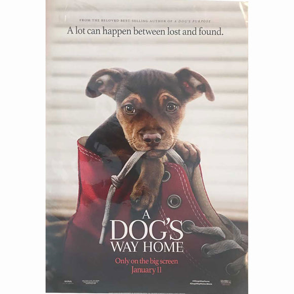 A Dogs Way Home Move Promo Poster 11x17