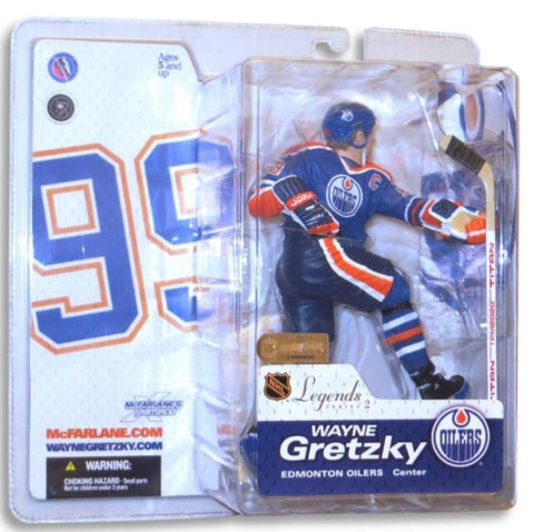 Wayne Gretsky McFarlane with Blue Uniform