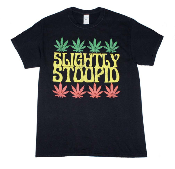 Slightly Stoopid Rasta Leaf T-Shirt