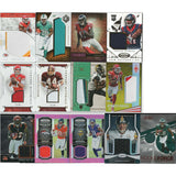 13 Card Lot JERSEY Football Cards