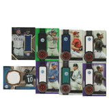 8 MLB Serial Numbered Game-Worn Jersey Baseball Cards