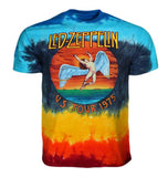 Led Zeppelin Icarus 1975 Tie Dye T-Shirt