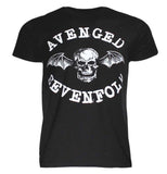 Avenged Sevenfold Skull Box Dateback T-Shirt