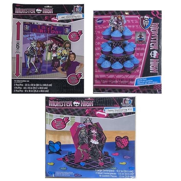 Monster High Party Decoration Kits