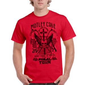 Mens Motley Crue T-Shirt All Bad Things Must Come to An End Final Tour - XL