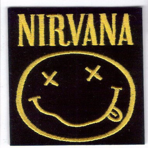 Nirvana Smiley Face Patch - Rock N Sports