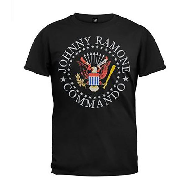 Johnny Ramones Commando Seal T-Shirt - Rock N Sports
