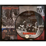 Ramones Framed Vinyl Record Collage
