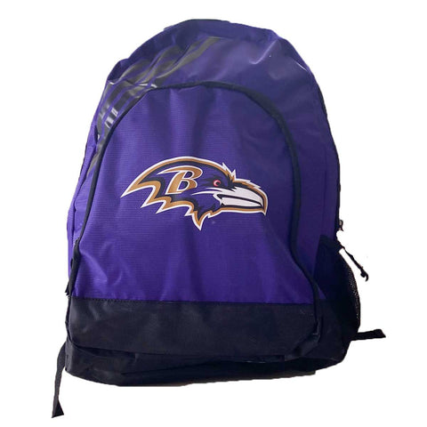 Baltimore Ravens Border Striped Backpack