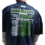 Seattle Seahawks Gift Pak- Shirt Sleeve Tee, Long Sleeve Tee & Tote Bag NEW