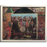 Beatles Sgt Peppers Record Collage
