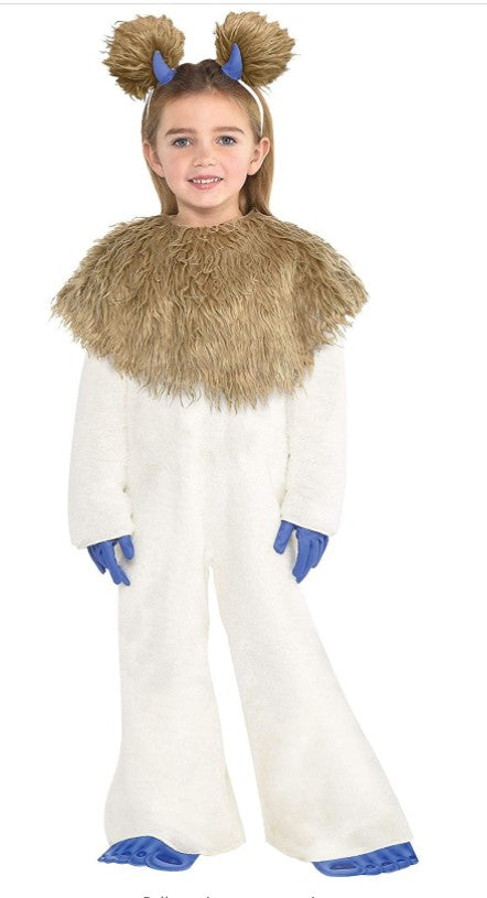 Girls Smallfoot Cali Costume