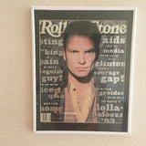 Framed Rolling Stone Magazine May 27, 1993  Sting Cover