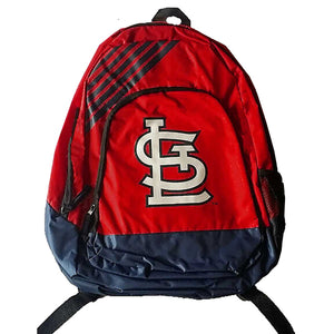 St Louis Cardinals Border Striped Backpack