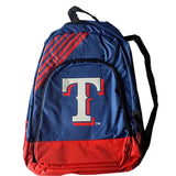 Texas Rangers Border Striped Backpack