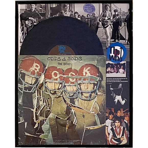 The Who Odds & Sods Framed Collage