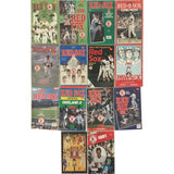 BOSTON RED SOX year books 14 OF THEM