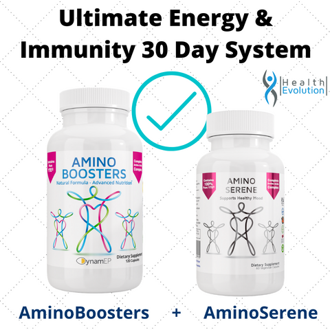 AminoBoosters with FREE AminoSerene - Limited Offer - USA CUSTOMERS ONLY