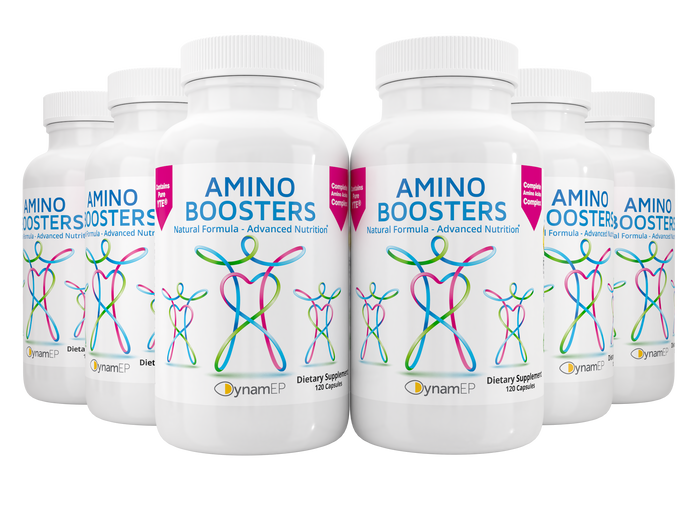 AminoBoosters 10 Pack Bundle - 10 Bottles - Maximum Retail Savings