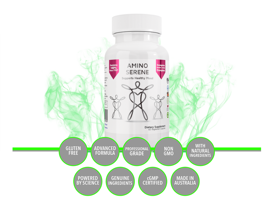 AminoSerene for Healthy Mood, Immunity, Calm & Serenity