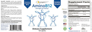 AminoB12 for Strength, Vitality, & Immunity