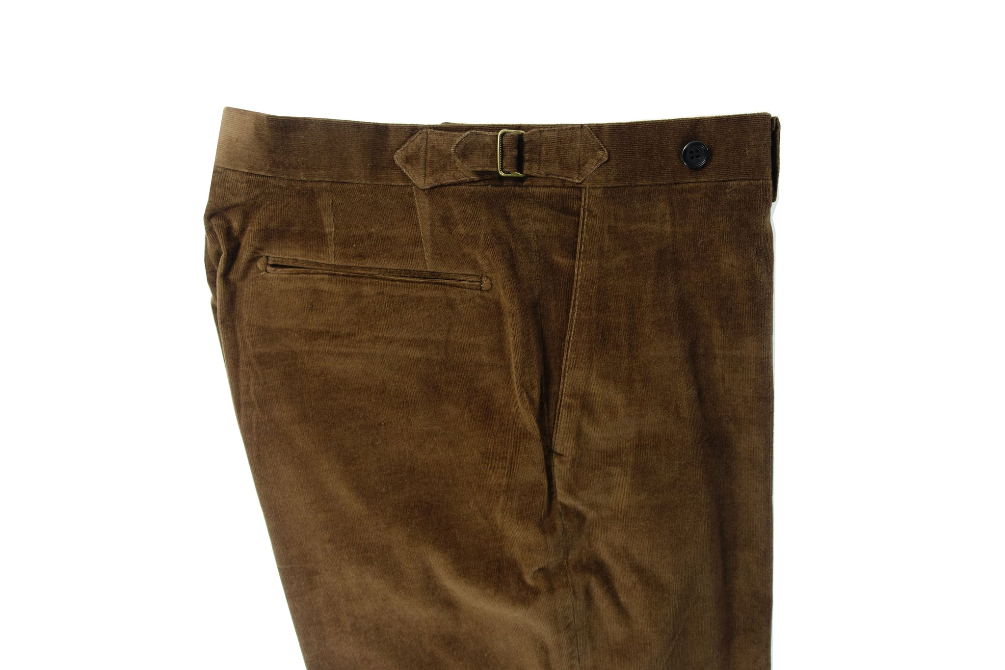 Dark Brown Corduroy Trouser