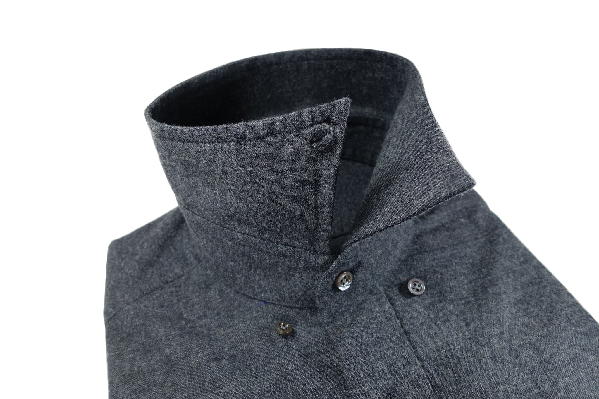 Hidden ButtonDown Collar