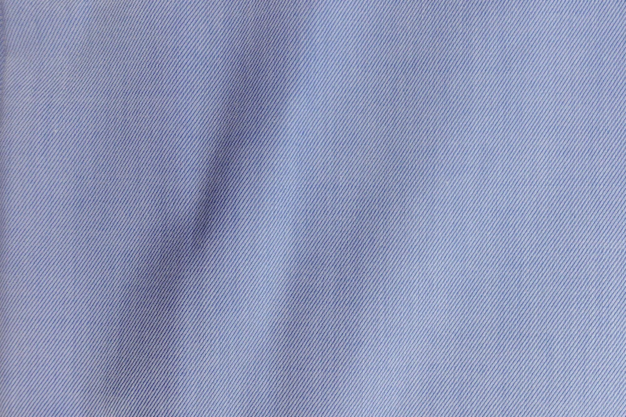 Luxury Light Blue Twill Shirt