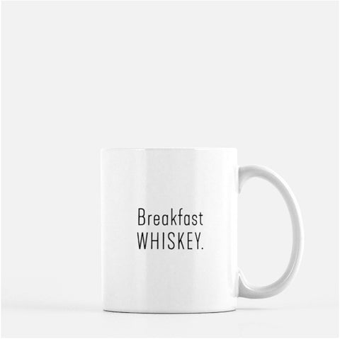 Breakfast Whiskey Coffee Mug