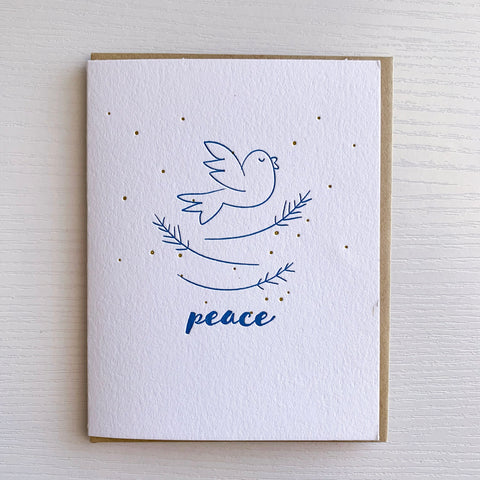 Peace Holiday Card