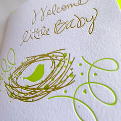 Baby Shower New Baby Card