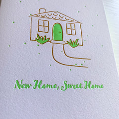 New Home Housewarming Card