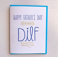 Father's Day DILF card
