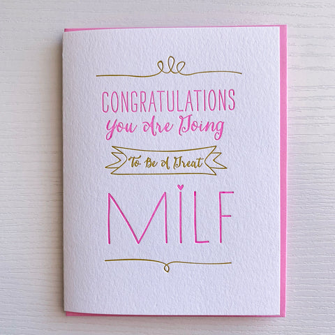 MILF Mother's Day Card