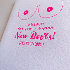 Congrats on your new Boobs card