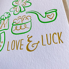 Love & Luck St. Patrick's Day Card