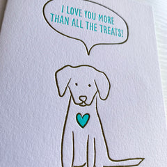 Card From The Dog For Dog Mom Or Dog Dad