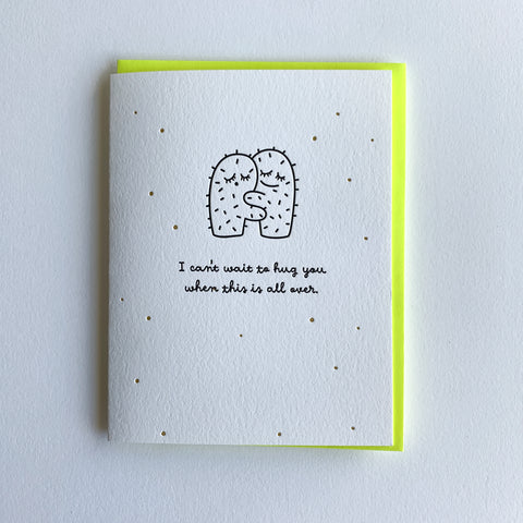 Social Distancing Card, I Miss You Card, Encouragement Card