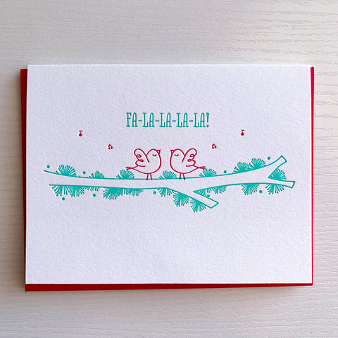 Fa-la-la-la-la Holiday Cards