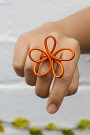 MONICA FLOWER RING small