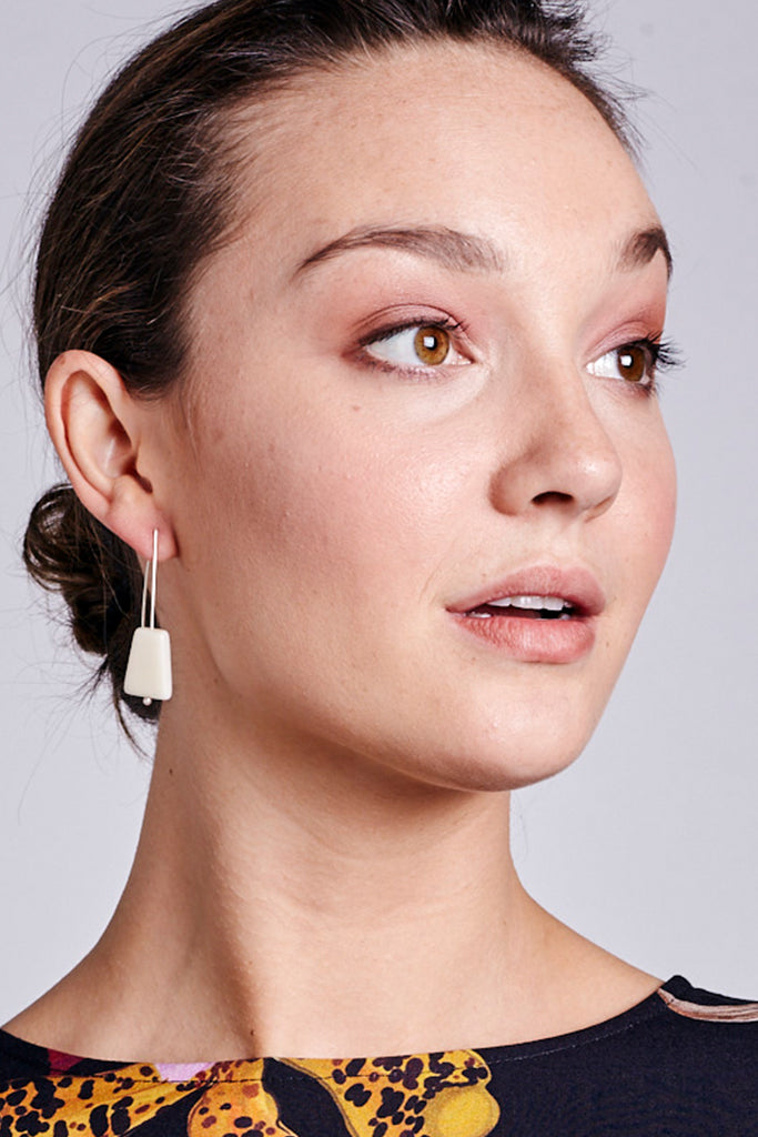 Marcia Long Hook Earrings