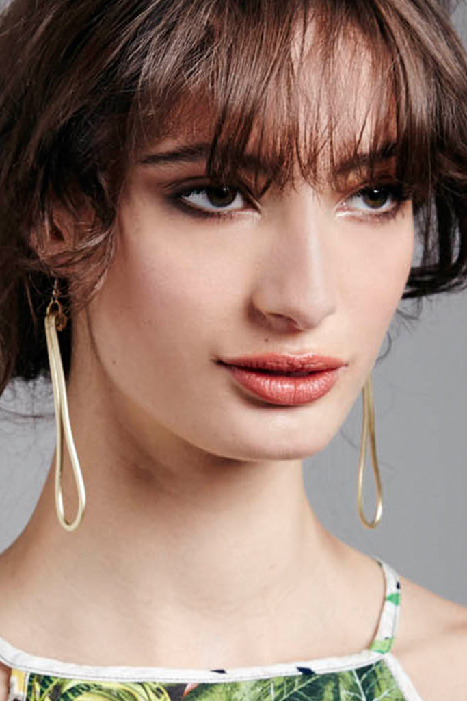 MONICA THIN DROP EARRINGS