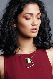 Marcia Single Tri  Necklace