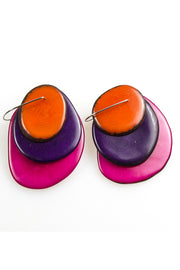 TRIPLATE EARRINGS