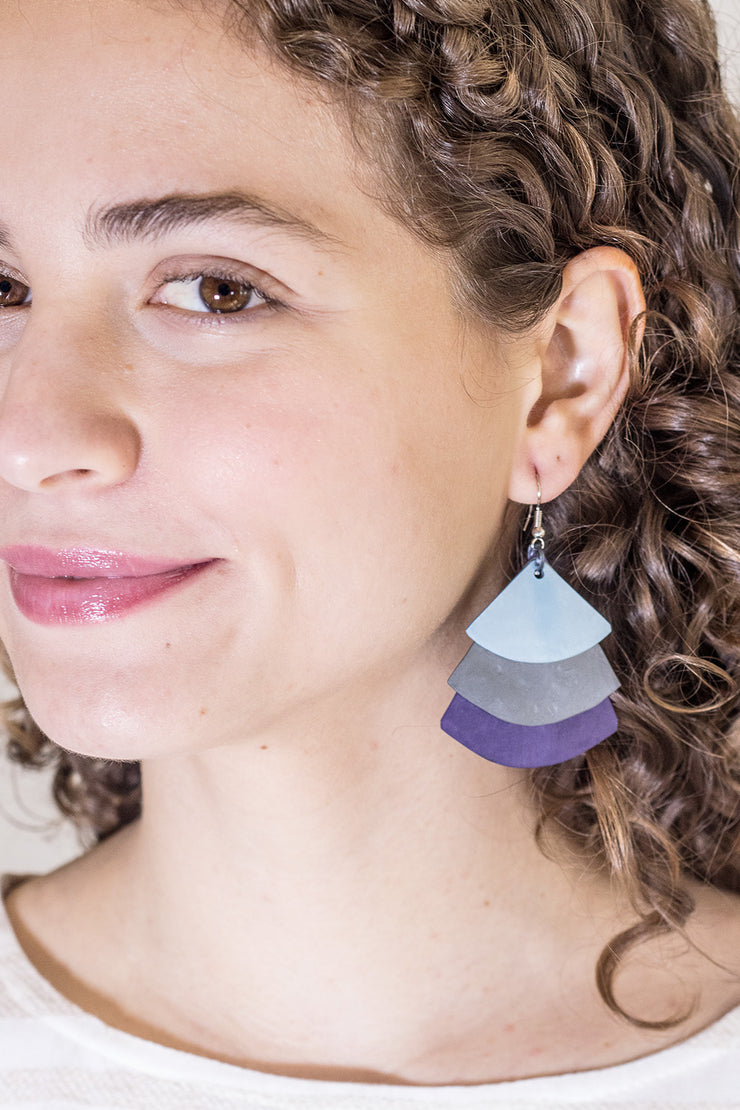 MONICA TRIFAN colours EARRINGS