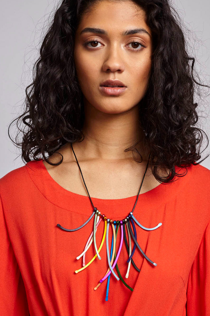 STRAWS NECKLACE
