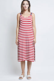 RENA STRIPED DRESS